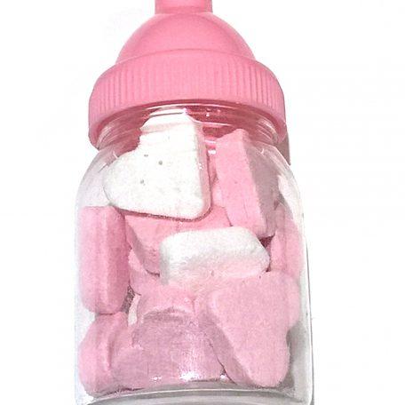 flesje-roze