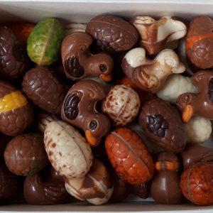 gesorteerd-paaschocolade